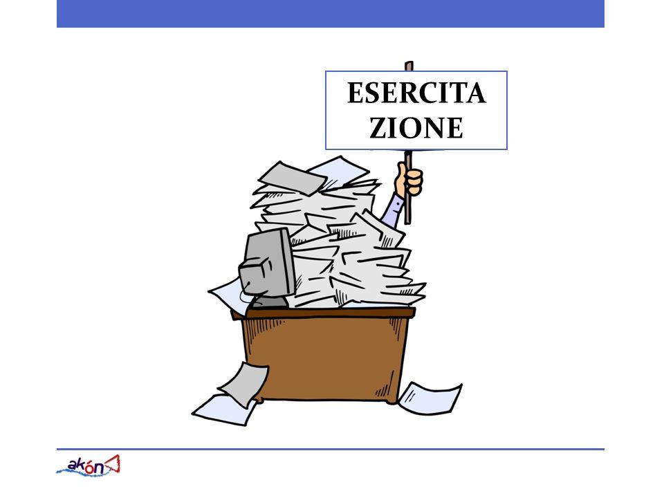 ESERCITA ZIONE