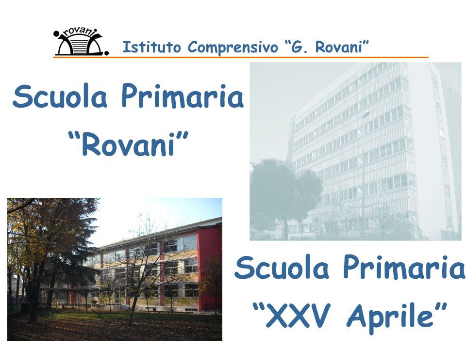 Scuola Primaria Rovani Istituto Comprensivo G. Rovani Scuola Primaria XXV Aprile