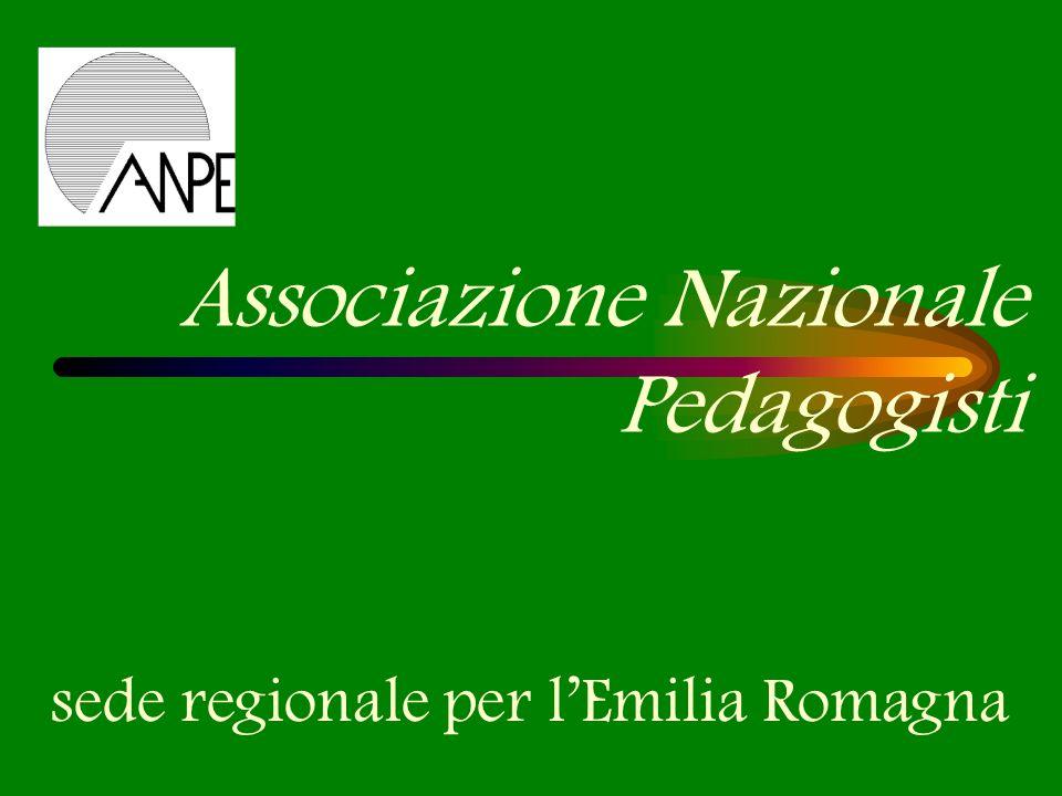Associazione Nazionale Pedagogisti sede regionale per lEmilia Romagna