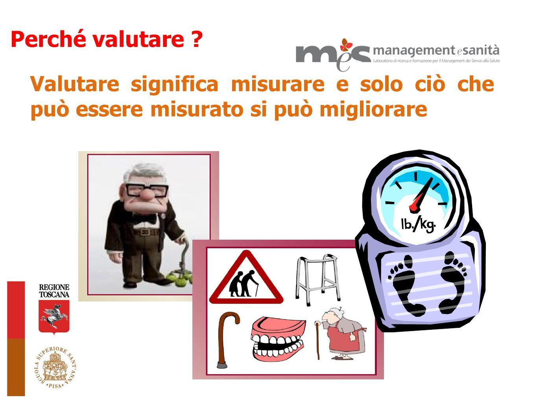 Valutare significa misurare e solo ciò che può essere misurato si può migliorare Perché valutare ?