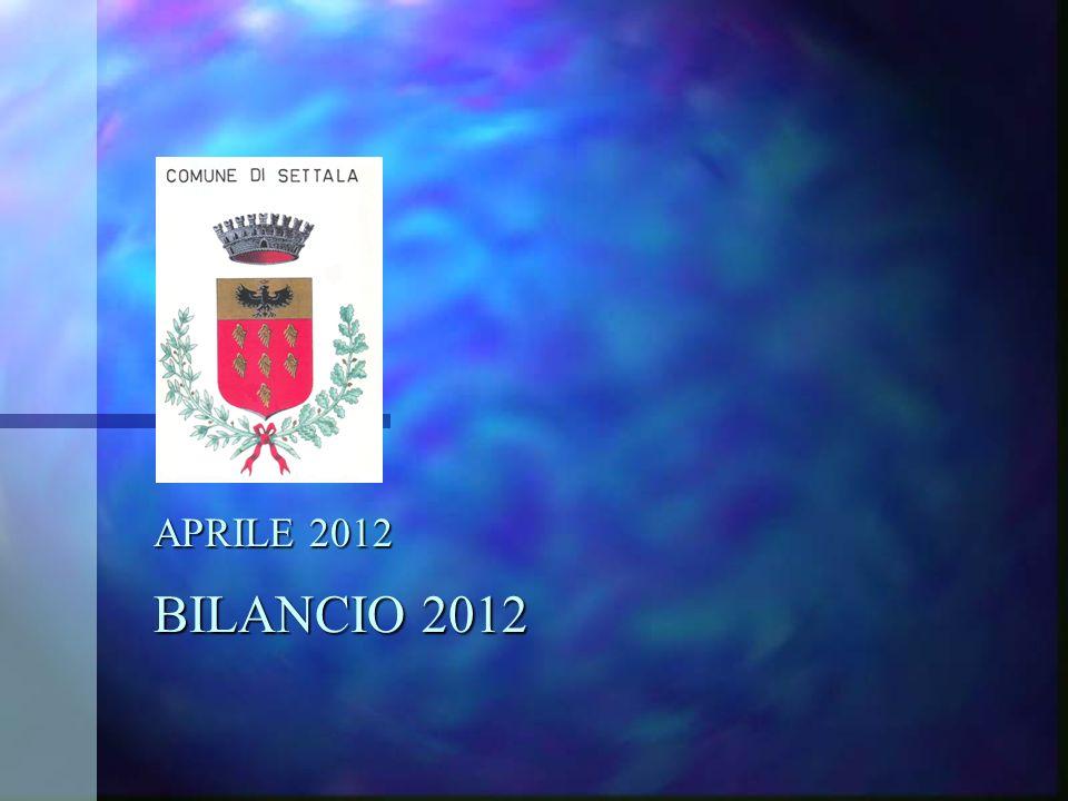 APRILE 2012 BILANCIO 2012