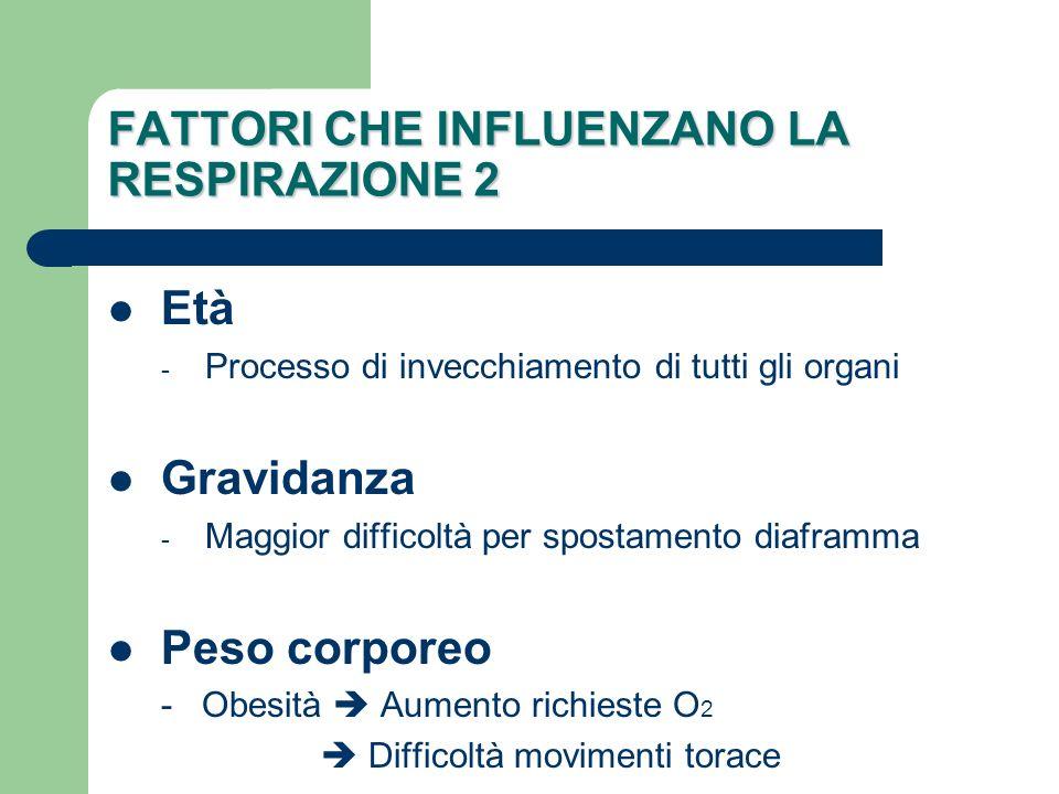 ACCERTAMENTO 2 Identificazione dei rischi Fumo - quantità, tempo Condizioni socio-economiche Attività lavorativa (ambienti con esposizione a fattori nocivi) Abuso alcool Anamnesi familiare Allergie