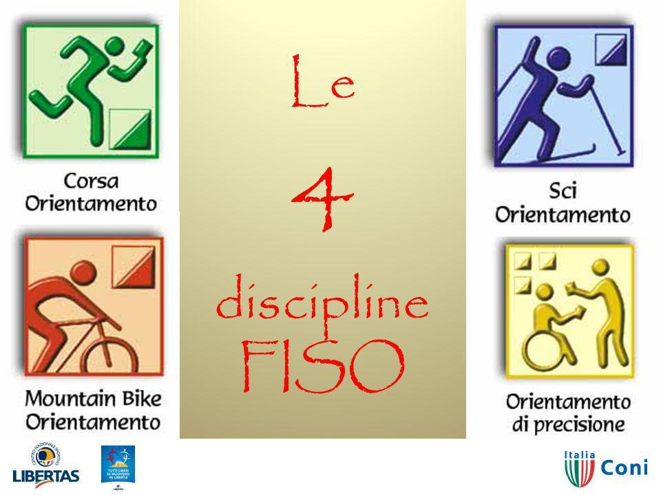 02/04/2014Orienteering14 Le 4 discipline FISO