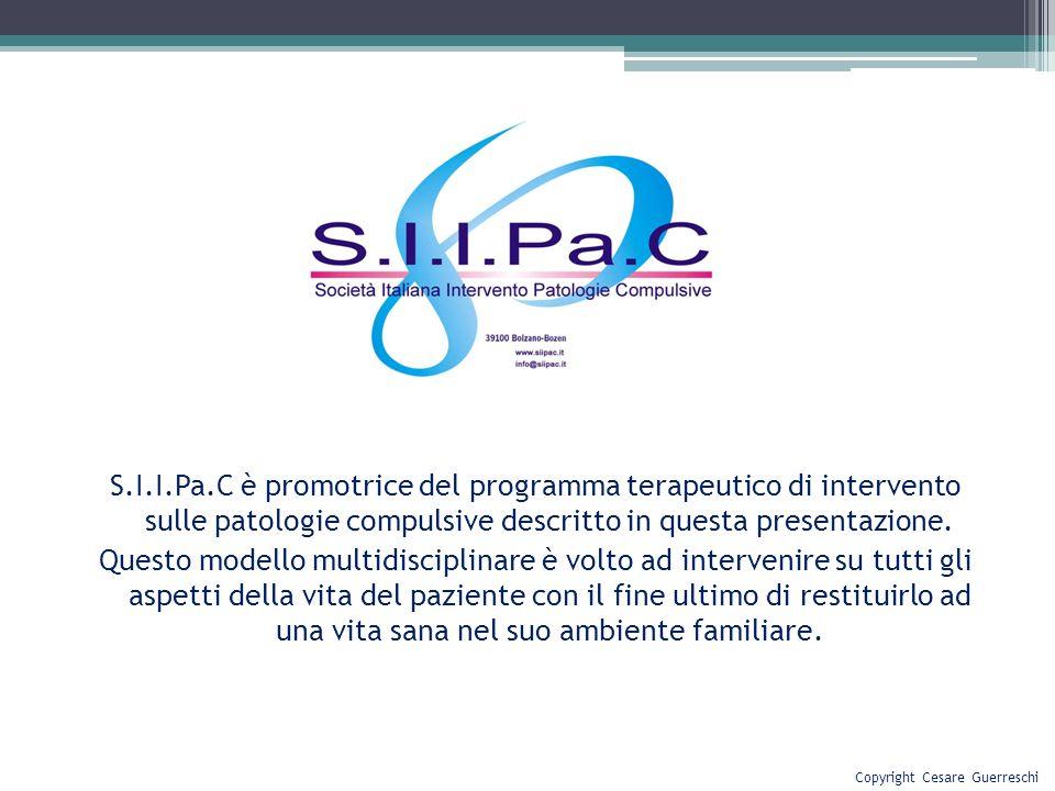 S.I.I.Pa.C è promotrice del programma terapeutico di intervento sulle patologie compulsive descritto in questa presentazione. Questo modello multidisc