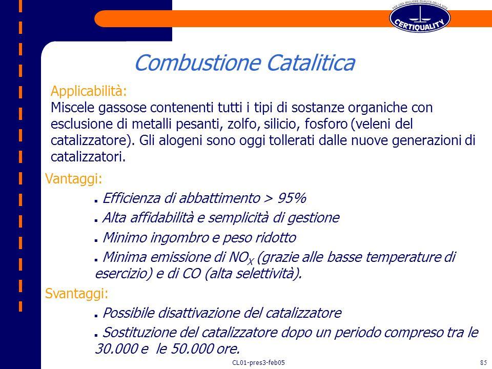 CL01-pres3-feb0584 Recupero di Calore Camino Aria Inquinata COMBUSTIONE CATALITICA RIGENERATIVA bruciatori Catalizzatore Camera di Combustione