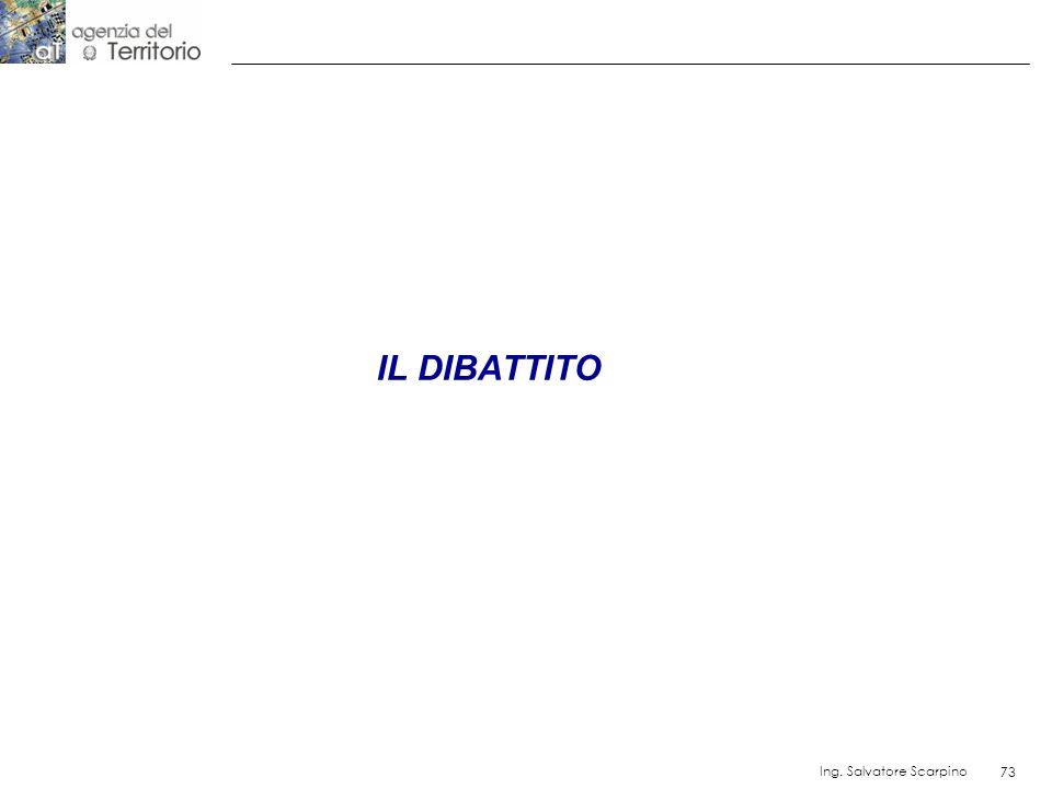 73 Ing. Salvatore Scarpino 73 IL DIBATTITO