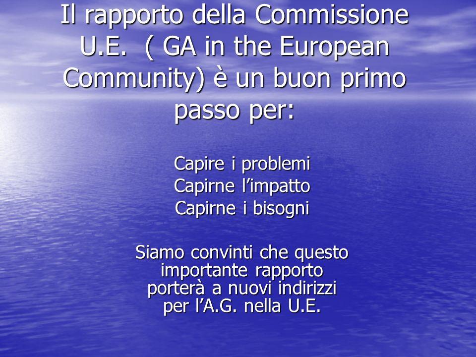 Il rapporto della Commissione U.E.