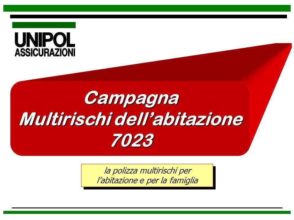 Campagna Multirischi dellabitazione 7023 la polizza multirischi per labitazione e per la famiglia
