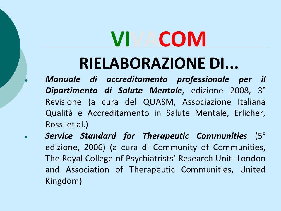 VIVACOM RIELABORAZIONE DI...
