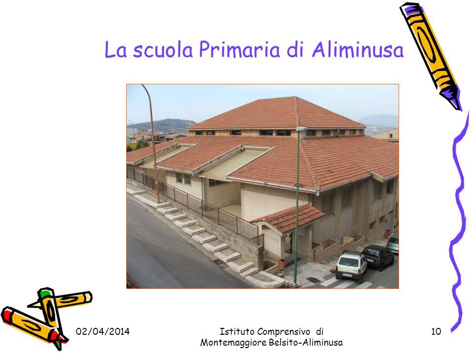 02/04/2014Istituto Comprensivo di Motemaggiore Belsito- Aliminusa 9 La Sede Centrale Scuola Primaria e Secondaria di I grado