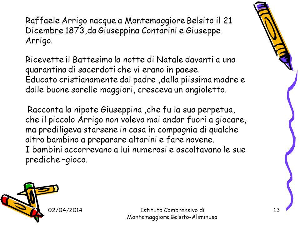02/04/201412 Mons.Dott. RAFFAELE ARRIGO ABBATE CASSINESE DI S.