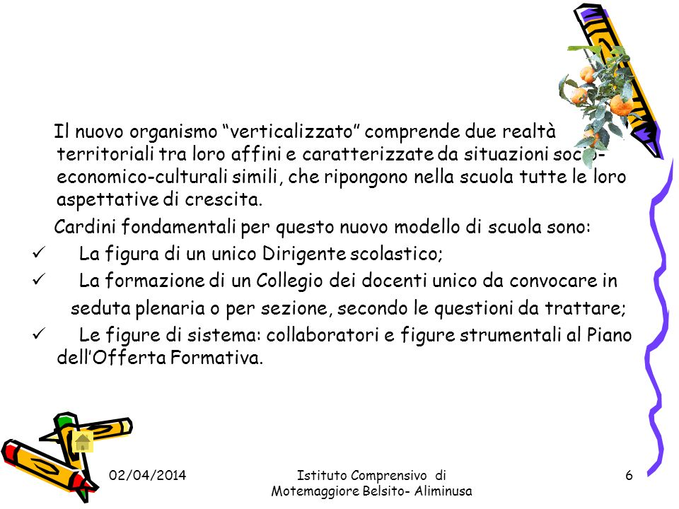 02/04/2014Istituto Comprensivo di Montemaggiore Belsito -Aliminusa 26 Responsabili di plesso Scuola Secondaria di primo grado Aliminusa Rosaria Digangi