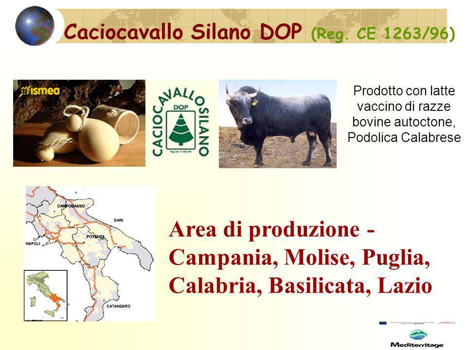 Caciocavallo Silano DOP (Reg.