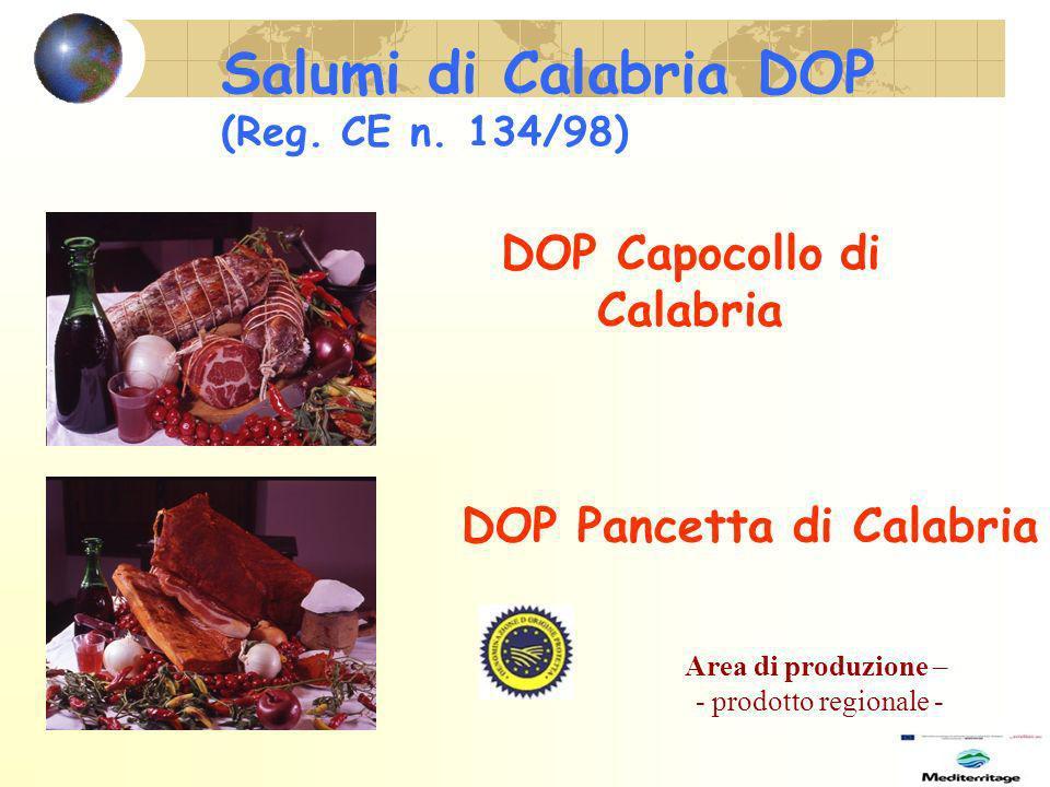 Salumi di Calabria DOP (Reg.CE n.