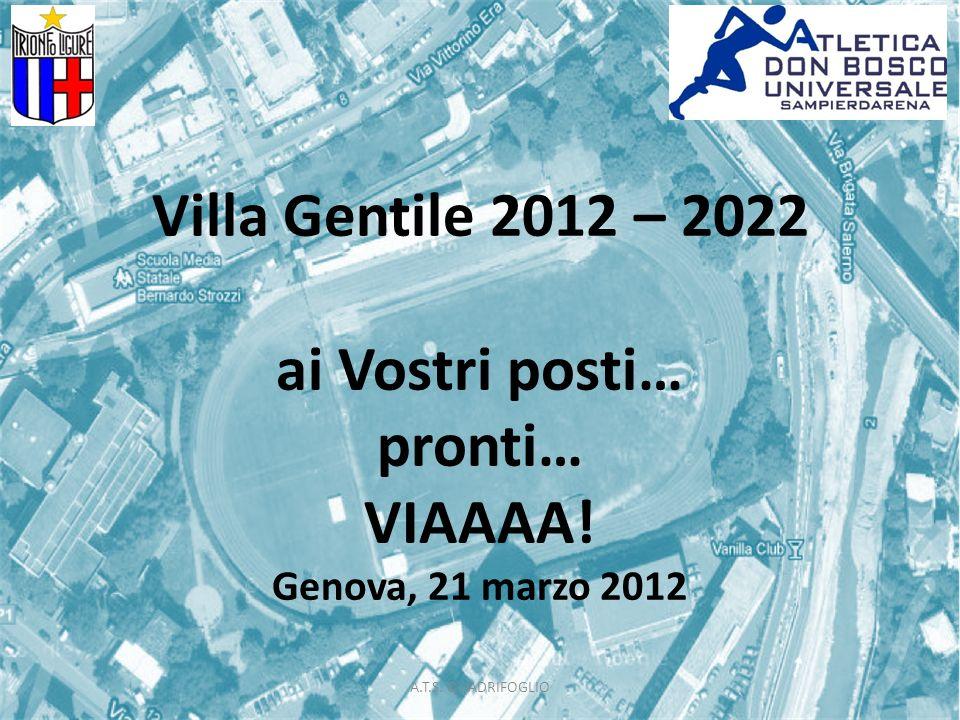 Villa Gentile 2012 – 2022 ai Vostri posti… pronti… VIAAAA.