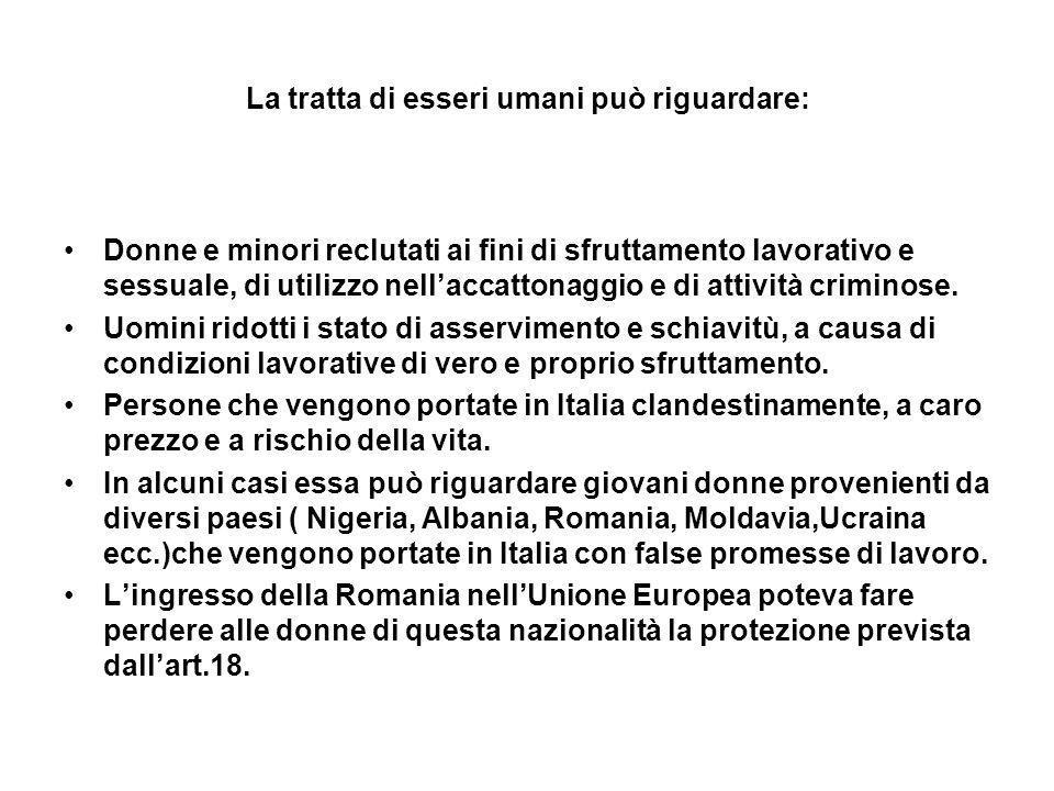 Per evitare ciò, con una circolare del 2006, si è previsto che i benefici dellart.18 venissero estesi anche ai cittadini dellUnione Europea.