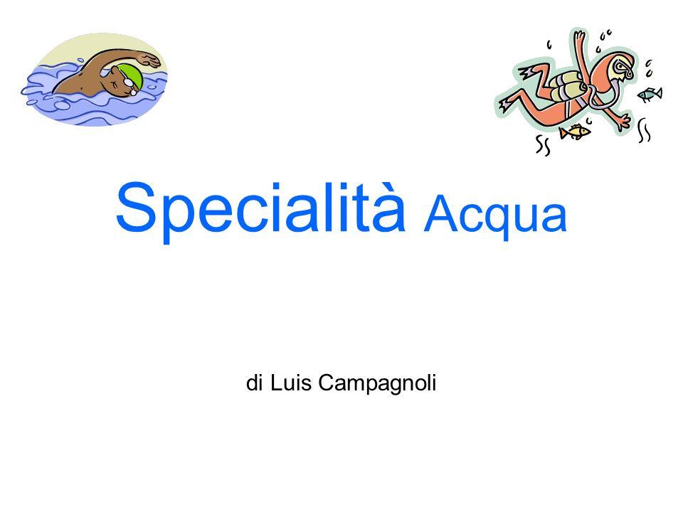 Specialità Acqua di Luis Campagnoli