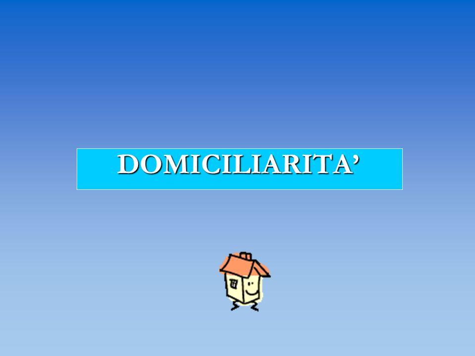 DOMICILIARITA