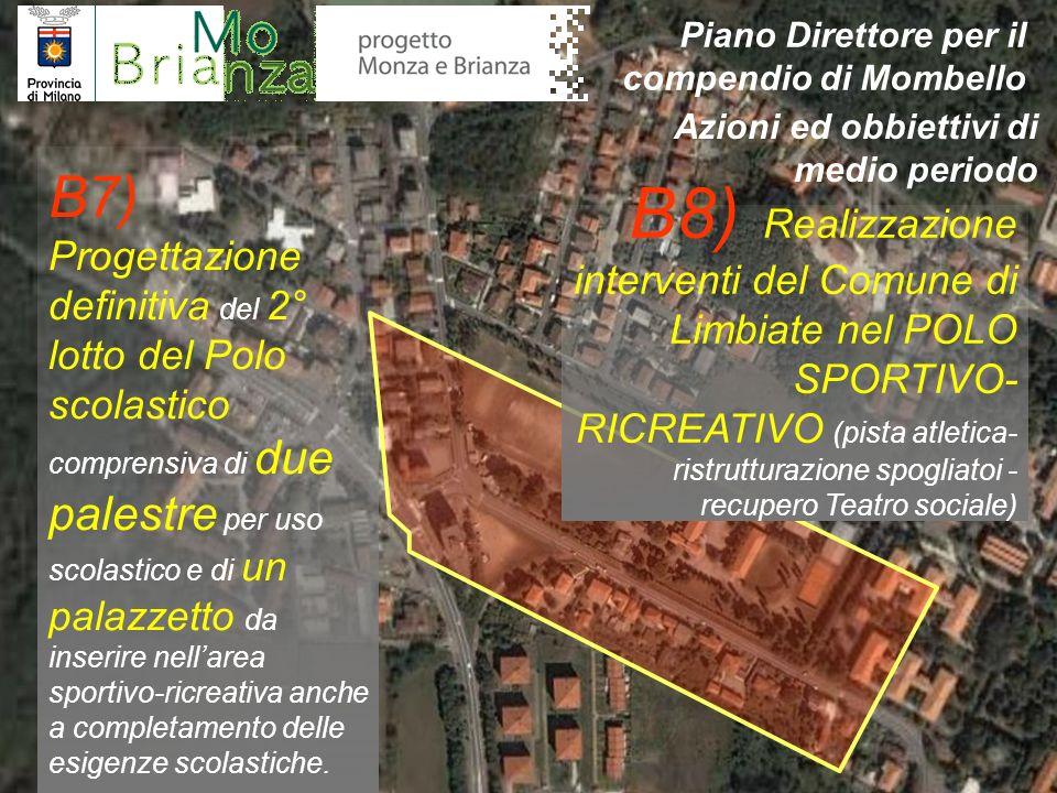 B9) Avvio progetto di fattibilità del recupero e ristrutturazione di Villa Crivelli- Pusterla ai fini di una progettualità integrata fra la Provincia di Milano e la Provincia di Monza e Brianza, nonchè per attività di rappresentanza degli enti stessi.