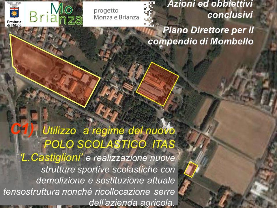 C1) Utilizzo a regime del nuovo POLO SCOLASTICO ITAS L.Castiglioni e realizzazione nuove strutture sportive scolastiche con demolizione e sostituzione