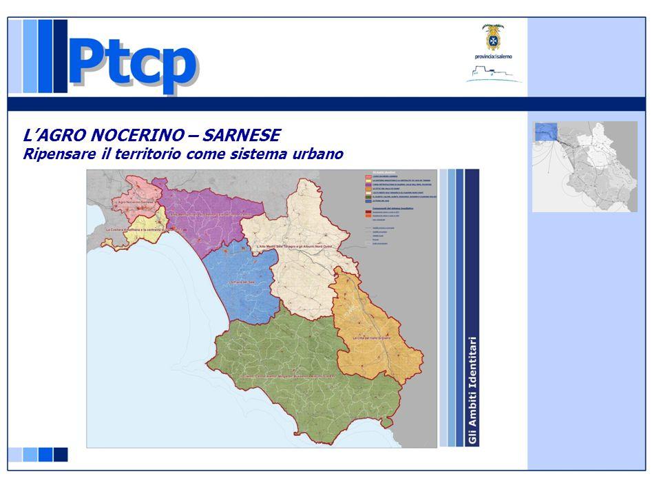 LAGRO NOCERINO – SARNESE Ripensare il territorio come sistema urbano RECUPERO E RIQUALIFICAZIONE DEL SISTEMA AMBIENTALE