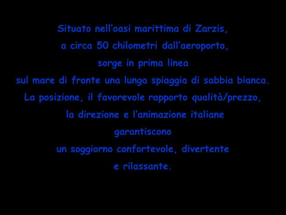 CAMERE/SERVIZI LE 193 CAMERE SONO TUTTE DOTATE DI ARIA CONDIZIONATA (CALDO/FREDDO), TELEFONO, TV CON RICEZIONE DI CANALI ANCHE ITALIANI, FRIGO BAR (SU RICHIESTA E A PAGAMENTO), SERVIZI PRIVATI, BALCONE O TERRAZZO.