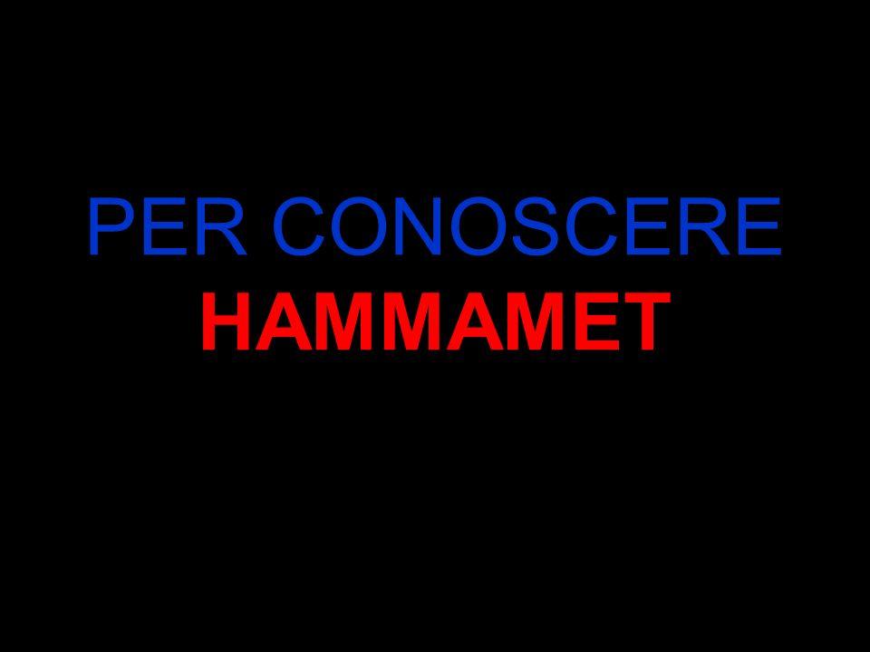 Il nome Hammamet, gli fu dato nel 904 dai conquistatori Arabi che fortificarono la città con le mura tutt ora presenti.