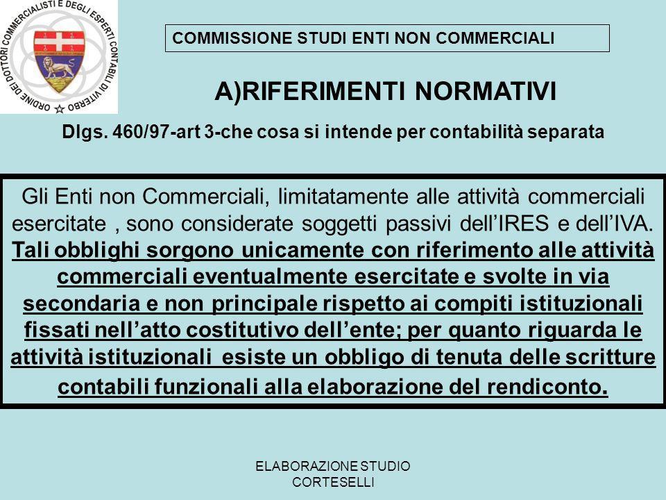 ELABORAZIONE STUDIO CORTESELLI Circolare Ministeriale - Ministero delle Finanze - Dipartimento Entrate - 12 maggio 1998, n.