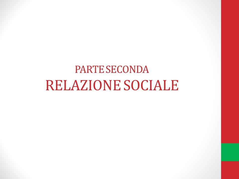 PARTE SECONDA RELAZIONE SOCIALE