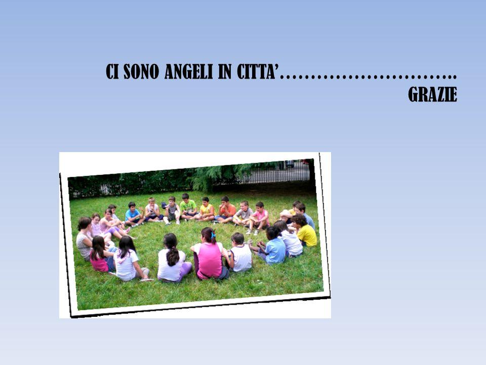 CI SONO ANGELI IN CITTA……………………….. GRAZIE