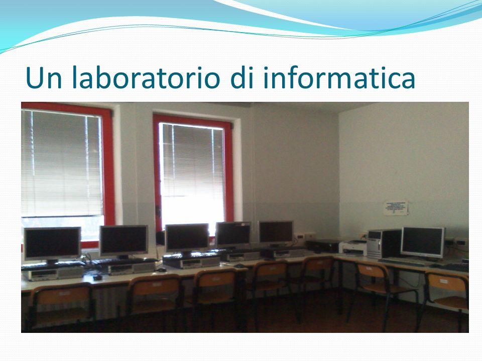 Un laboratorio di informatica