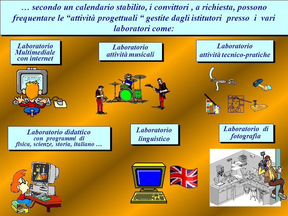 Laboratorio didattico con programmi di fisica, scienze, storia, italiano … Laboratorio didattico con programmi di fisica, scienze, storia, italiano …