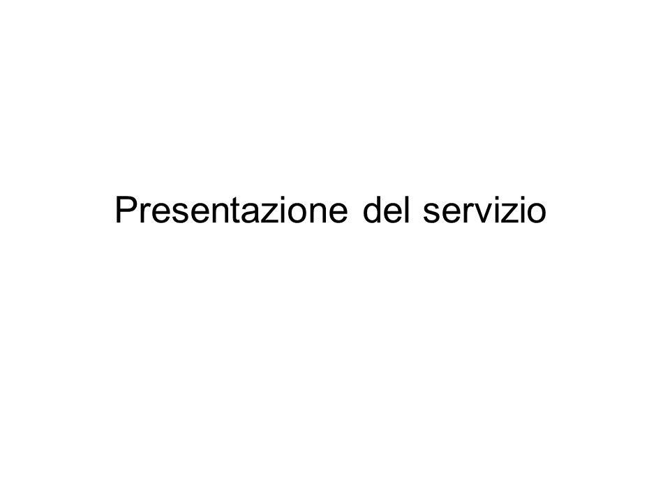 Presentazione del servizio