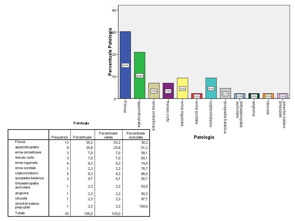 Valutazione del Servizio da parte dei genitori Livello di gradimento e valutazione dellefficacia relativamente a: –Presentazione del Servizio –Somministrazione degli strumenti –Attività ludiche-informative –Accompagnamento pre-operatorio –Assistenza post-operatoria