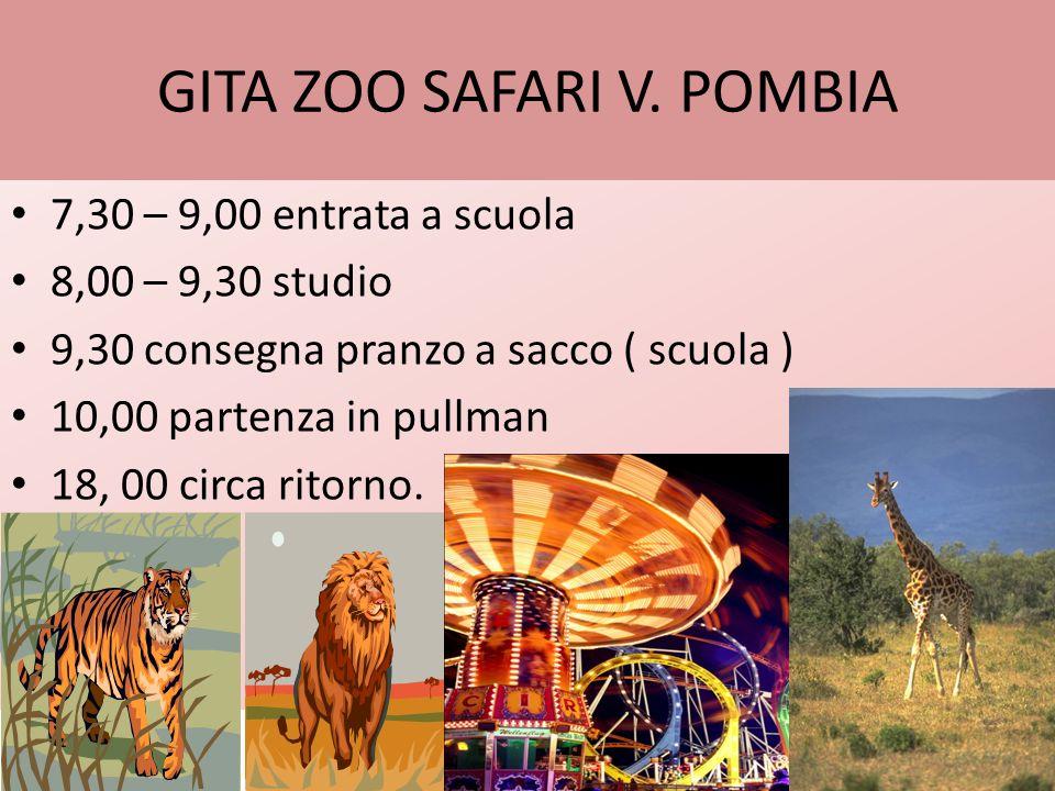 GITA A GARDALAND 6,00 ritrovo davanti scuola 6,30 partenza in pullman 20,00 circa arrivo a Novara