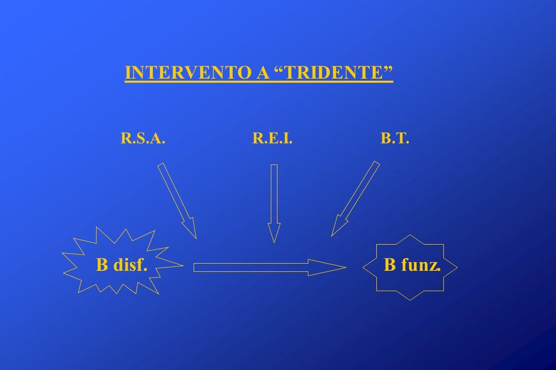 INTERVENTO A TRIDENTE R.S.A. R.E.I. B.T. B disf. B funz.