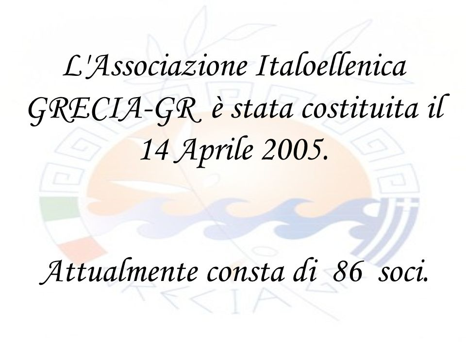 La quota associativa annua ammonta in 20,00.