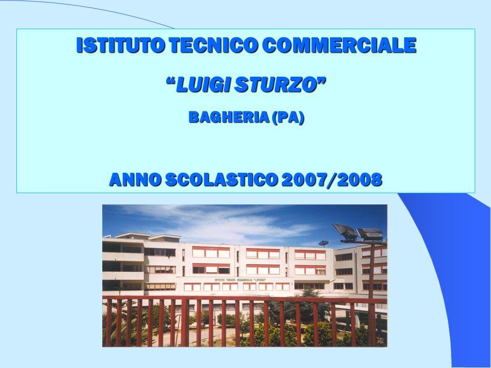 ISTITUTO TECNICO COMMERCIALE LUIGI STURZOLUIGI STURZO BAGHERIA (PA) ANNO SCOLASTICO 2007/2008
