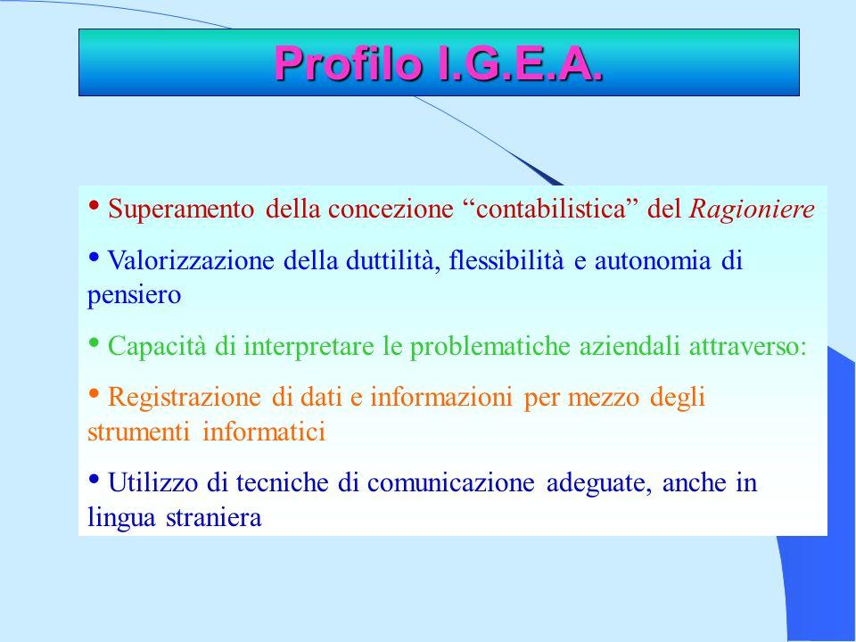Profilo I.G.E.A.
