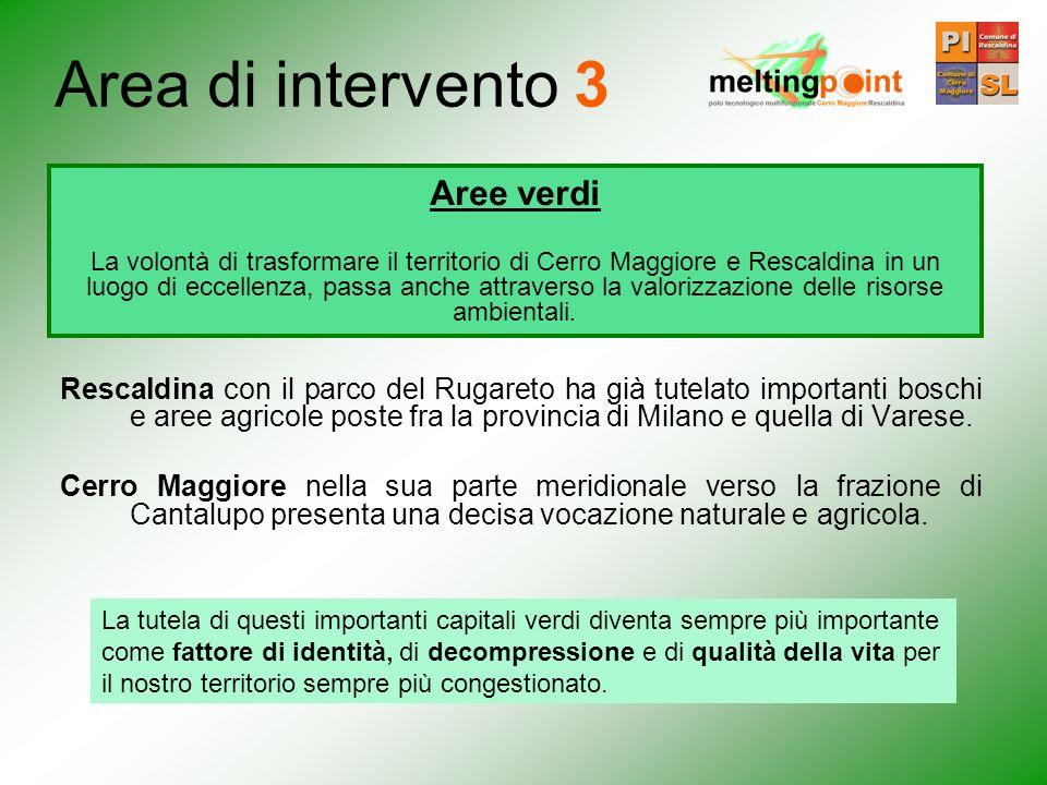 Rescaldina con il parco del Rugareto ha già tutelato importanti boschi e aree agricole poste fra la provincia di Milano e quella di Varese. Cerro Magg
