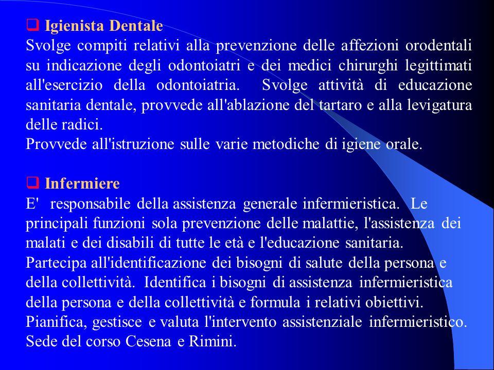 FACOLTA DI MEDICINA E CHIRURGIA ELENCO CORSI DI LAUREA CON INDICAZIONE DEI PROFILI E DELLE COMPETENZE PROFESSIONALI Fisioterapista Svolge autonomament
