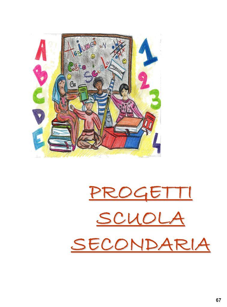 PROGETTI SCUOLA SECONDARIA 67