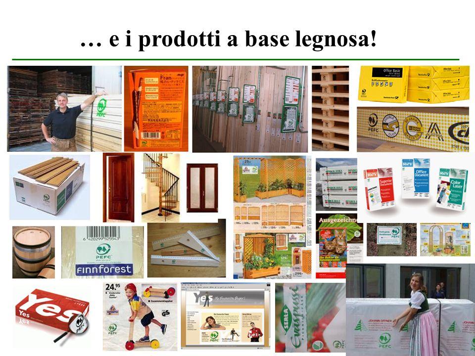 14 … e i prodotti a base legnosa!