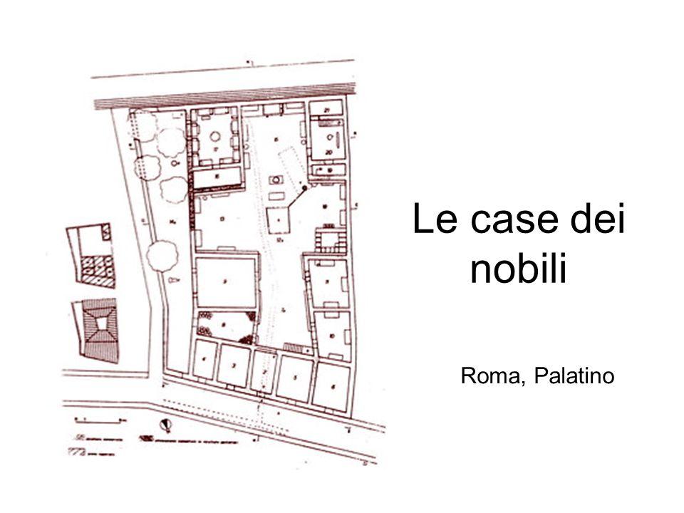 Le case dei nobili Roma, Palatino