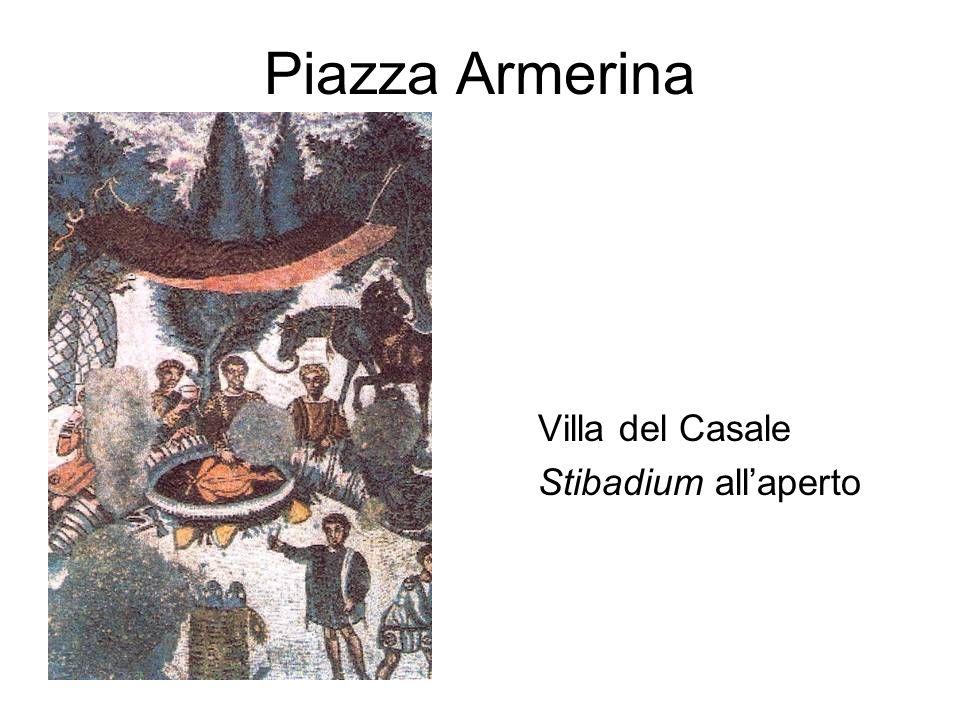 Piazza Armerina Villa del Casale Stibadium allaperto