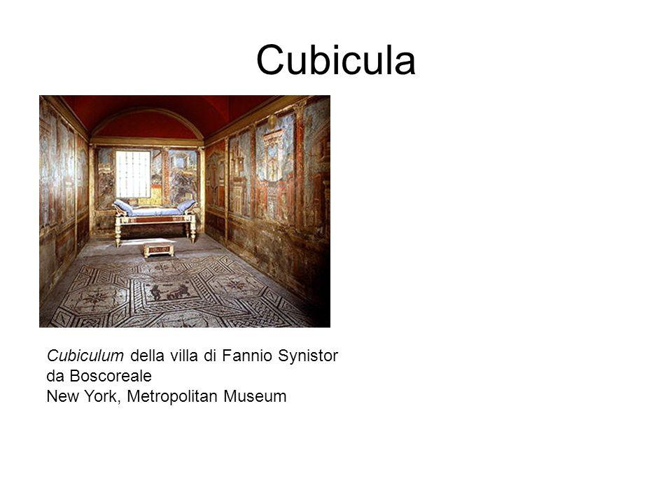 Cubicula Cubiculum della villa di Fannio Synistor da Boscoreale New York, Metropolitan Museum