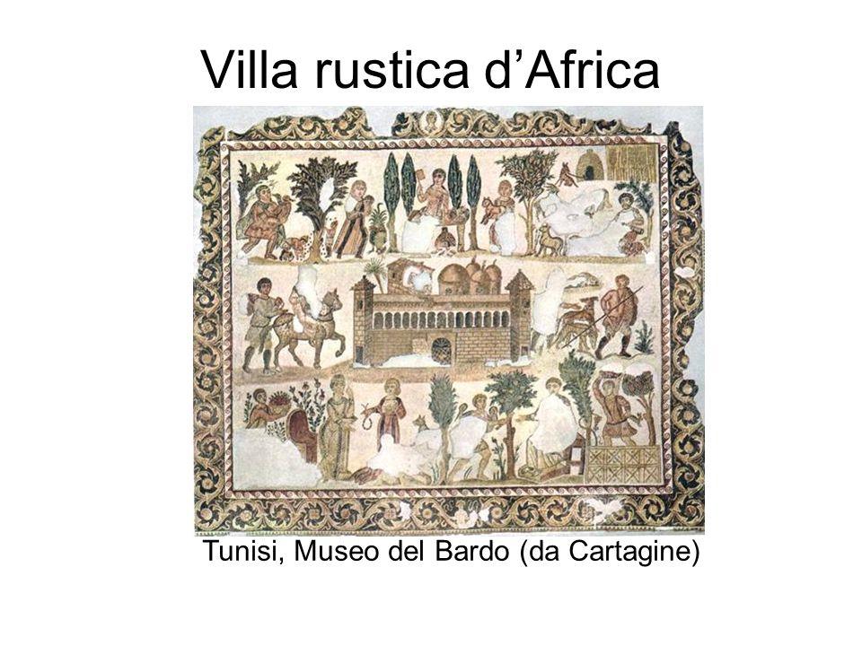 Villa rustica dAfrica Tunisi, Museo del Bardo (da Cartagine)