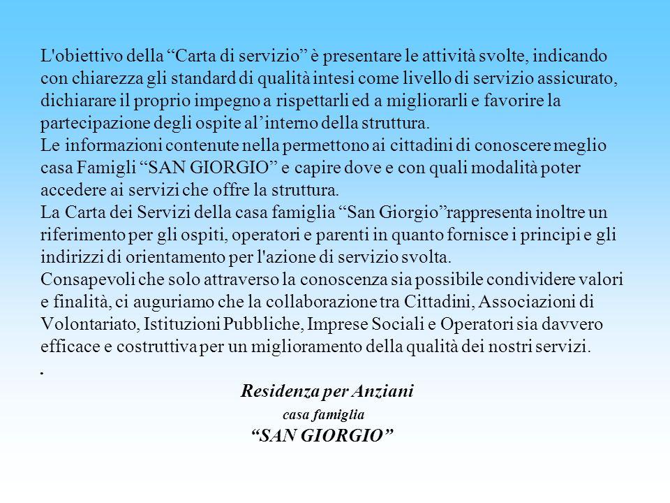 CONTINUITA E FLESSIBILITA DEL SERVIZIO.