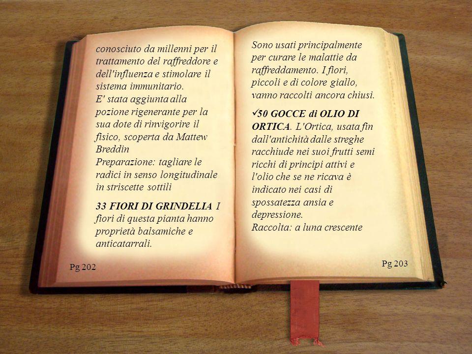 Pg 225 Pg 224 Non superare le dosi consentite, non più di due cucchiai da minestra al giorno.