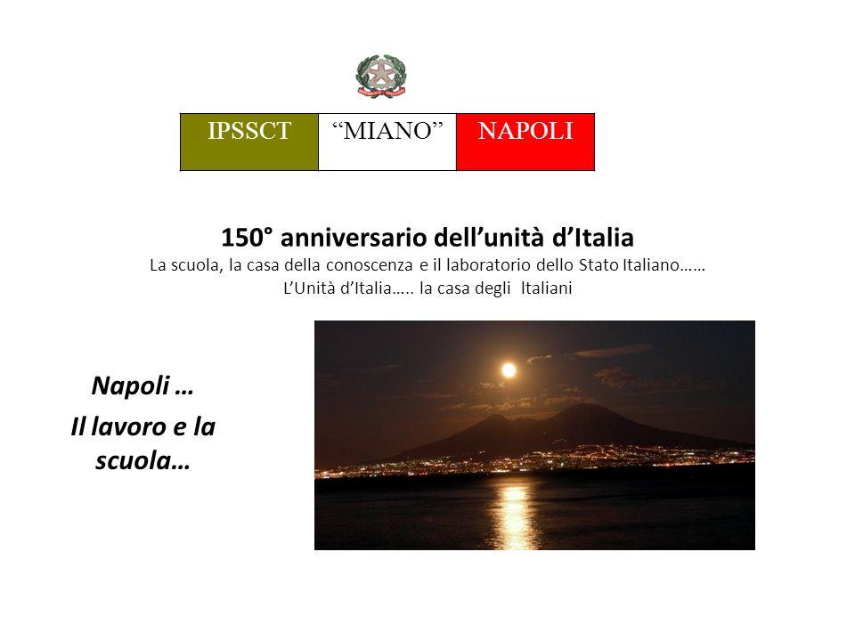 150° anniversario dellunità dItalia La scuola, la casa della conoscenza e il laboratorio dello Stato Italiano…… LUnità dItalia…..